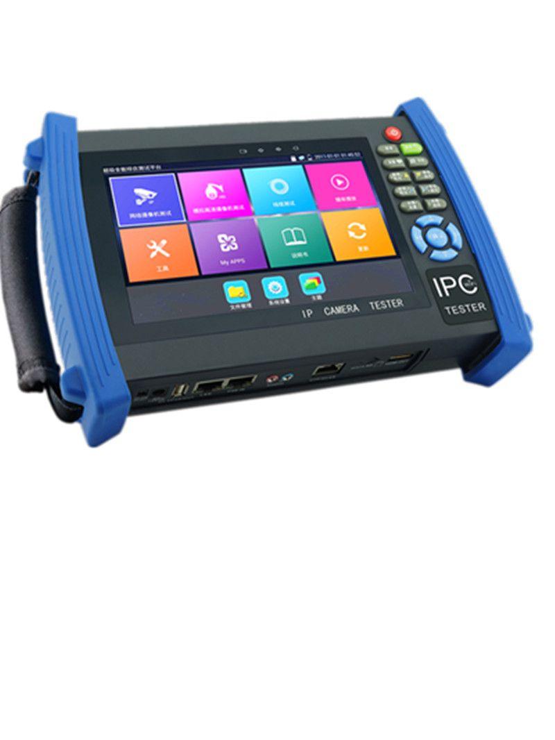 New 7 Inch 5 In 1 H.265 4K IP HD CCTV Tester Monitor AHD CVI TVI CVBS Tester 8MP 5MP 1080P ONVIF WIFI HDMI Input POE 12V output