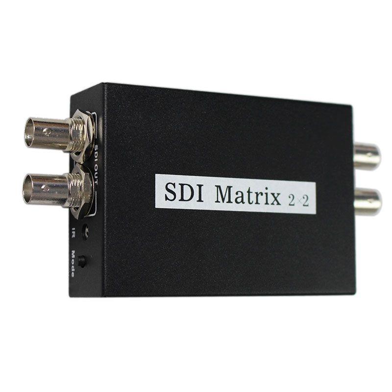 SDI Matrix 2x2 switcher SDI/HD-SDI/3G-SDI Nahtlose Converter Switcher Digital Video Signal Schalter zu Hohe defination Display