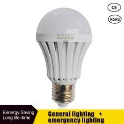 LED Bombilla inteligente E27 5 W 7 W 9 W luz de emergencia Led 85-265 V batería recargable iluminación lámpara de iluminación al aire libre Bombillas