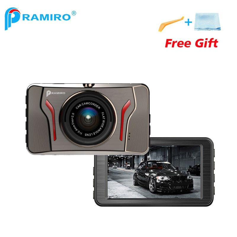 PRAMIRO 3 inch car dvr with G-sensor car camera full hd 1080P 120degree angle dash camera T611 metal case automobile recorder