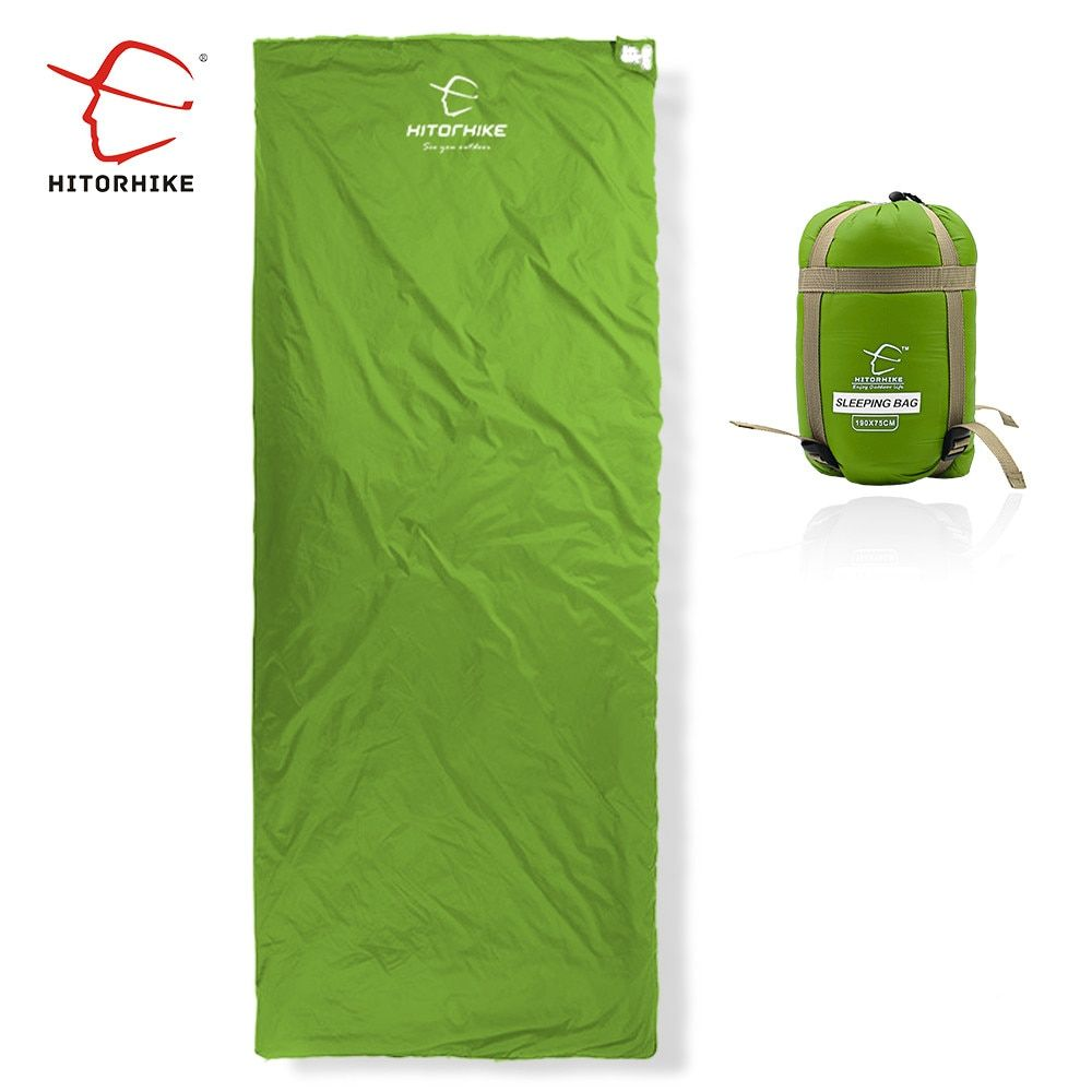 Hitortrekking 75x190 CM Mini sac de couchage extérieur Ultra-léger enveloppe Ultra-petite taille pour Camping randonnée escalade costume 3 saisons