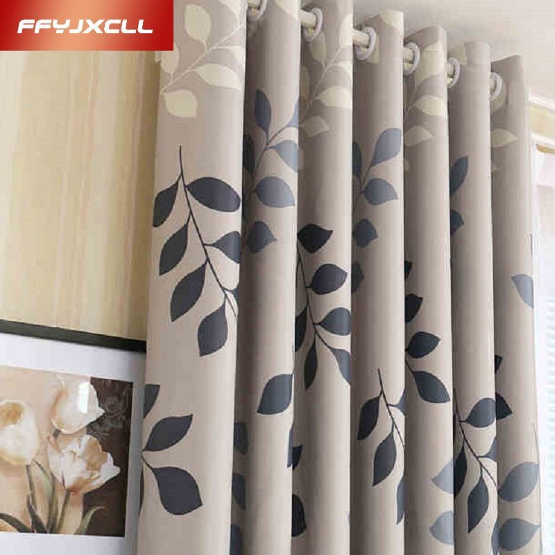 Rideau occultant à usage domestique pastorale imprimé Floral panneau de fenêtre rideaux pure diviseur de chambre rideau pour salon chambre