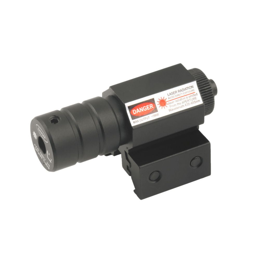 1 Set Tactical Red Laser Beam Dot Sight Scope red dot riflescope for Gun Rifle Pistol Picatinny Mount for hunting