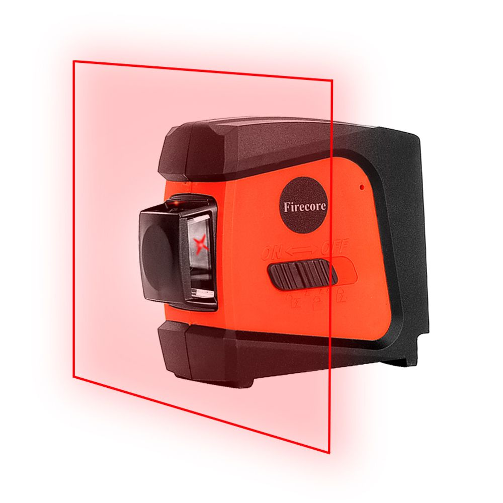 <font><b>Firecore</b></font> A8846 Mini 4 Lines 360 Degrees Red Laser Level (Auto Self-Levelling In the Range of 3 Degrees )