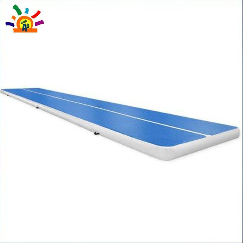 4 m 5 m 6 m Lange 2 m Breite Aufblasbare Air Track-Matte Für Verkauf China Aufblasbare Trampolin Luft wäschetrockner Spur Aufblasbare Gym Matte