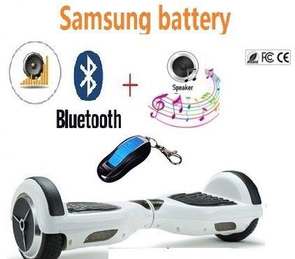 6,5 zoll elektrische roller Selbst ausgleich roller 2 rad-elektro roller skateboard hoverboard bluetooth oxboard