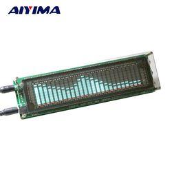 Aiyima 15 Level VFD Music Audio Spectrum indicator Amplifier Board Level indicator VU Meter Speed Adjustable AGC Mode With Case