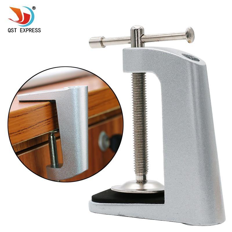 Silber schwarz LED drahtreifen schreibtischlampe clip basis tube lampe einstellbare filter zu lampen zubehör DIY