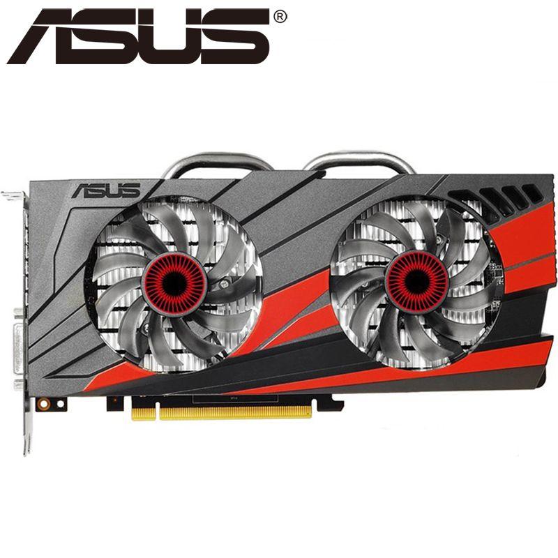 ASUS Grafikkarte Original GTX 960 2 GB 128Bit GDDR5 Grafikkarten für nVIDIA VGA Karten Geforce GTX960 Hdmi Dvi spiel Auf verkauf