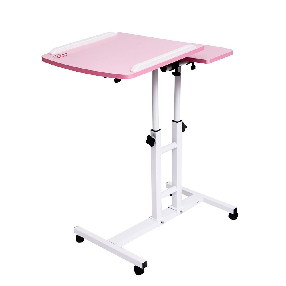 2018 Foldable Computer Table 64*40CM Adjustable Portable Laptop Desk Rotate Laptop Bed Table Can be Lifted Standing Desk