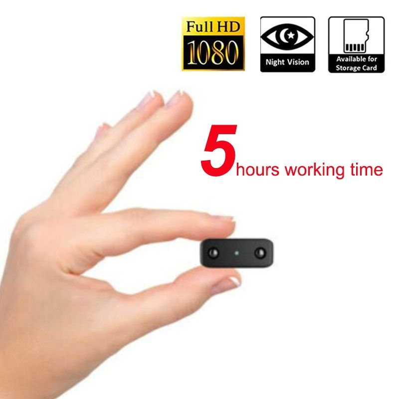 working 5 hours 1080P Infrared Night Vision Mini Camera Audio Recording Mini Camcorder with Built-in Microphone pk SQ8 SQ11