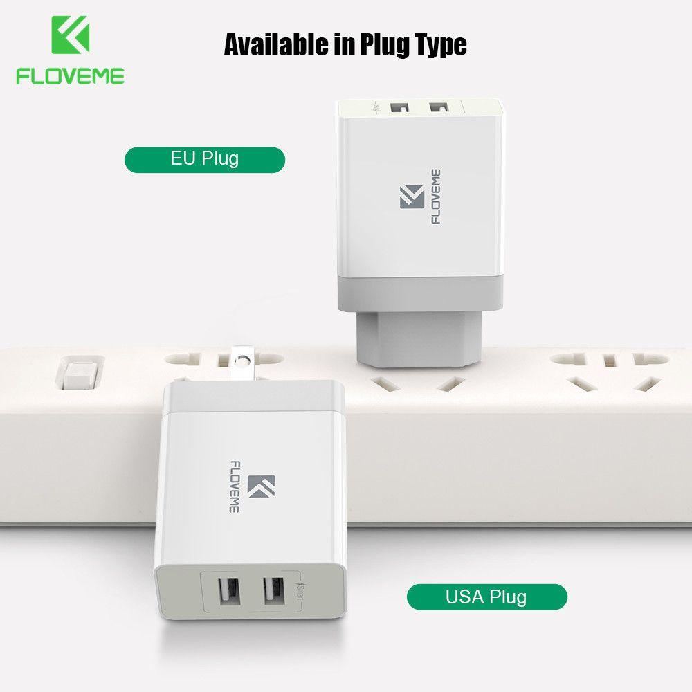 FLOVEME Universel USB Chargeur Qualcomm Charge Rapide 3.0 (Charge rapide 2.0 Compatible) rapide Chargeur de Téléphone Pour Samsung Xiaomi HTC