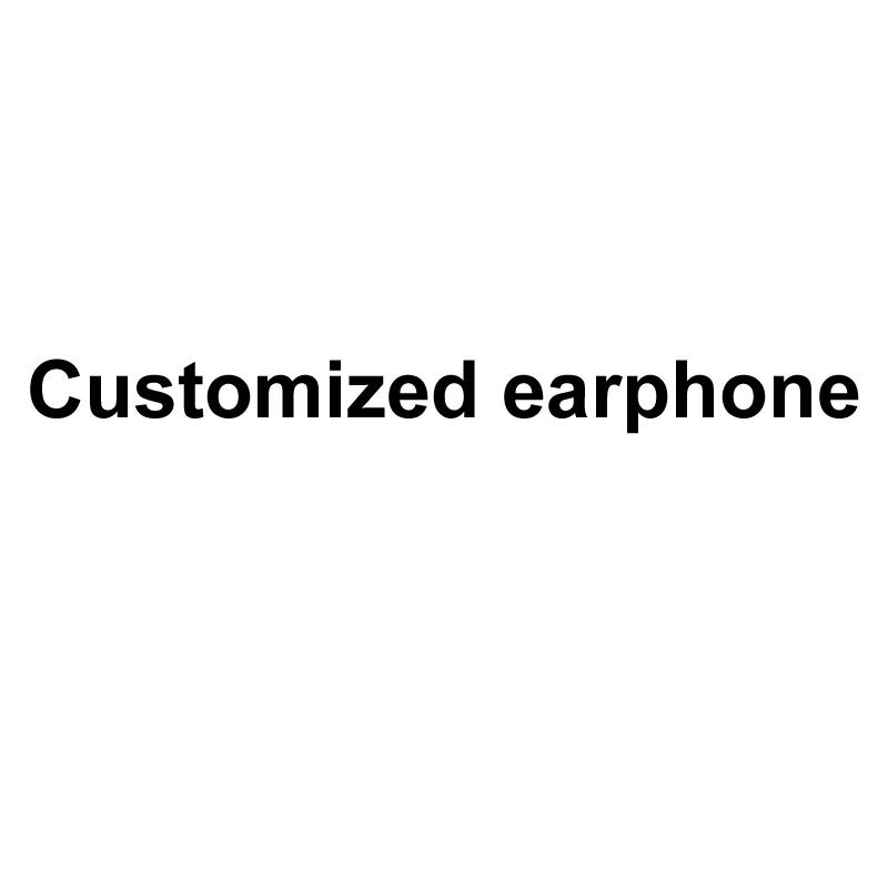 Customized earphone (Please Dont Order This Link)