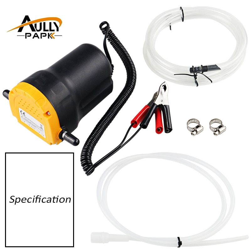 Automobiles pump for pumping oil 12V Oil/Diesel Fluid Sump Extractor Scavenge Exchange Transfer Pump Car <font><b>Boat</b></font> Motorbike Oil Pump