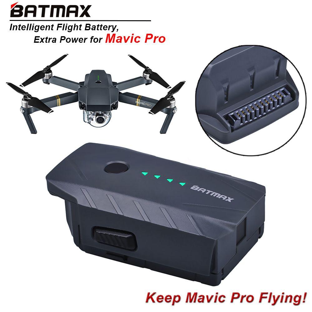 1Pc 3830mAh Mavic Pro Intelligent Flight Replacement Battery For DJI Mavic Pro/ Fly More Combo Quadcopter 4K HD Camera Drones
