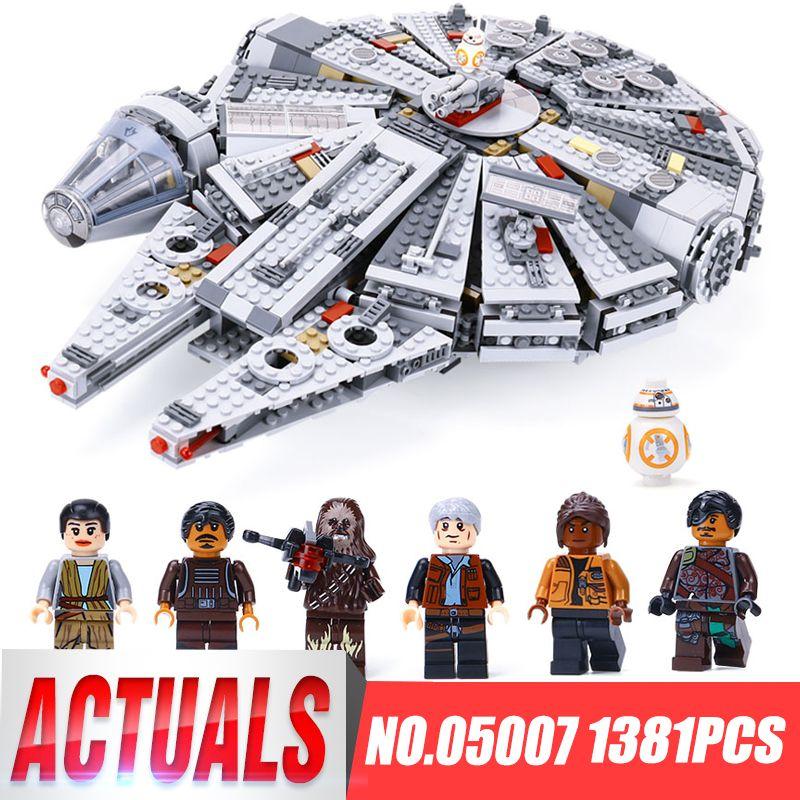 DHL LEPIN 05007 05142 Star legoingls 75192 75105 75212 Wars Millennium Falcon Building Block Brick Kid Toys Model birthday gifts