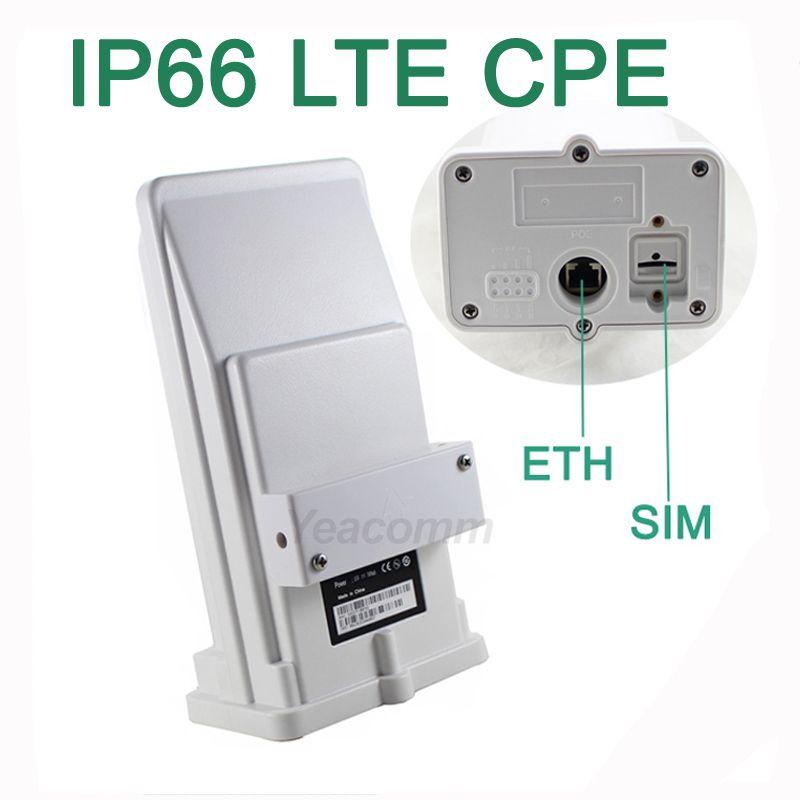Freies Verschiffen! YF-P11 outdoor 4g CPE router access point bridge LTE 150 mt mit 8dbi eingebaute antenne