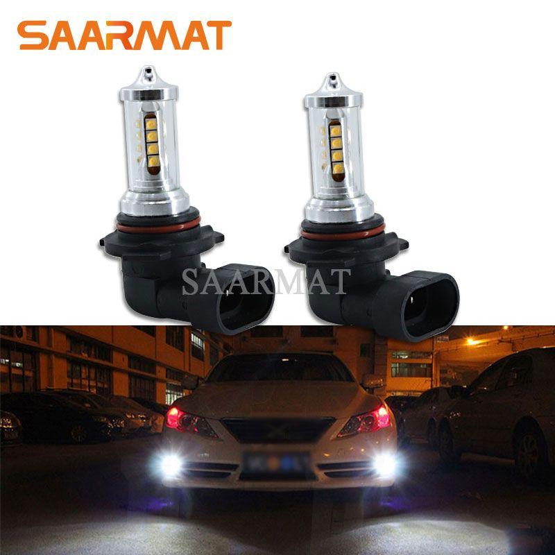 2 Pcs Led-lampe Canbus 9006 HB4 2000LM Nebel Licht Tagfahrlicht Lampe DRL Für Lexus GS RX 300 330 LS460 IS250 LS600h ES350