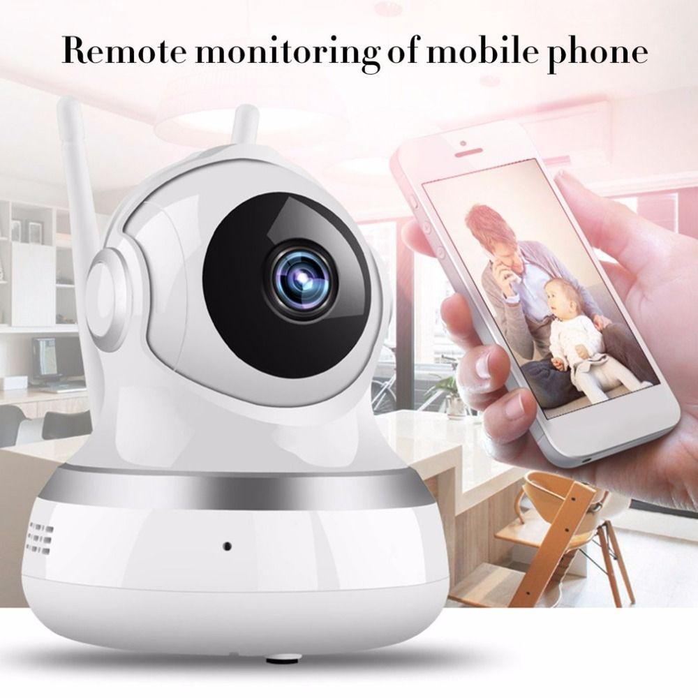 HD 1080P Wireless Baby Monitor Smart WiFi Audio CCTV Camera Home Security Surveillance Camera Dual-Aerials Two-way <font><b>Intercom</b></font>