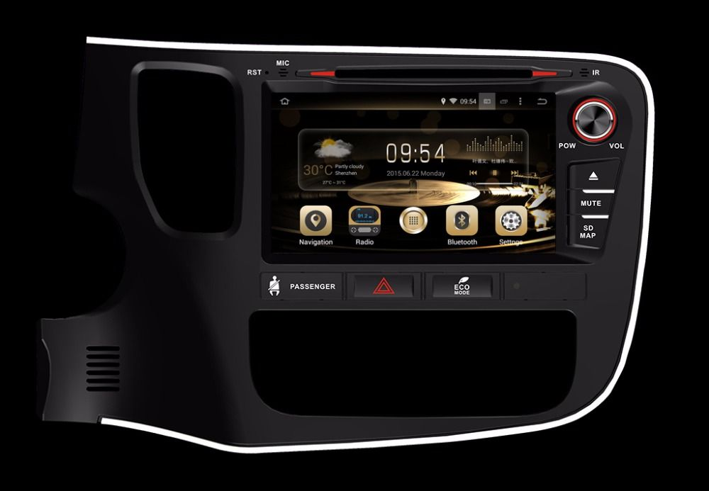 8inch 4G LTE 1024*600 octa core Android 8.0! car multimedia DVD player Radio GPS FOR MITSUBISHI OUTLANDER 2014 2015 16-2017 2018