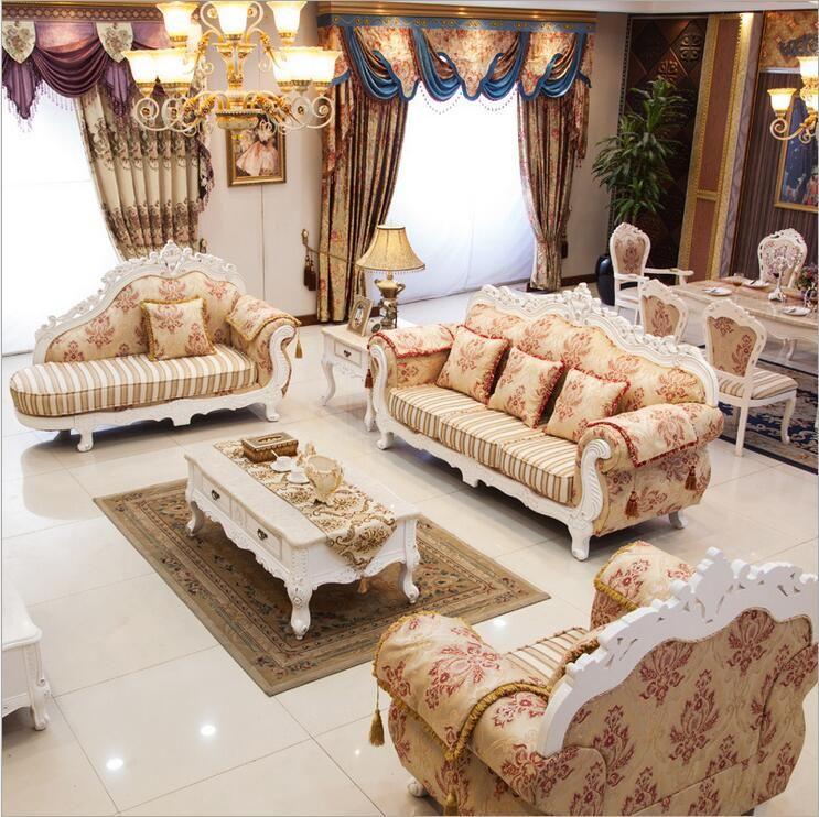 Wohnzimmer möbel moderne stoff sofa Europäischen sofagarnitur set 1038