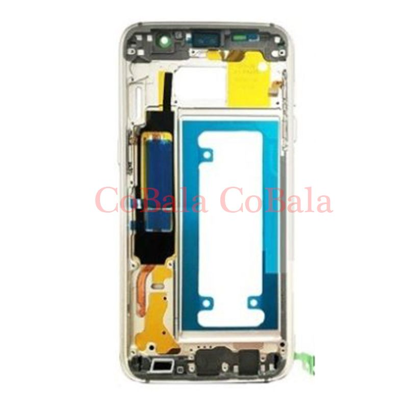 1Pcs For Samsung Galaxy S7 Edge G935 G935F G935W8 Housing LCD Display Middle Frame Midframe Bezel Chassis Plate