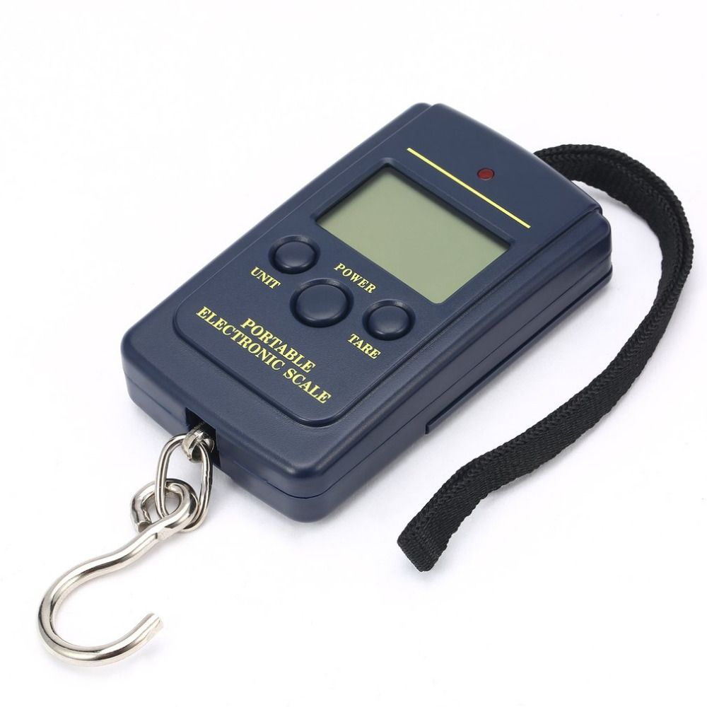 Digital Scales Luggage Scale Load 40Kg LCD Mini Protable Pocket Weighting Fishing Scale Electronic Hanging Balance Fish