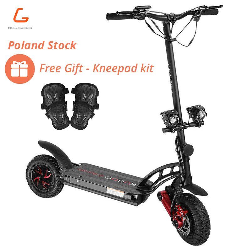 NEUE KUGOO G-Booster Klapp Elektrische Roller Sport Roller 55 km/h 2x800W 10Inch Vakuum Reifen 2 stick Motoren 85KM Reichweite Senden Geschenk