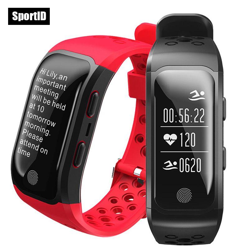 New GPS Smart Bracelet IP68 Waterproof Swimming Watches Heart Rate Monitor S908 Sports Wristband Pedometer Band Fitness Tracker