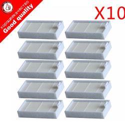 10 шт. фильтры для пылесоса HEPA фильтр для CHUWI V3 iLife X5 V5 V3 + V5PRO ECOVACS CR130 cr120 CEN540 CEN250 ML009 Запчасти для пылесоса