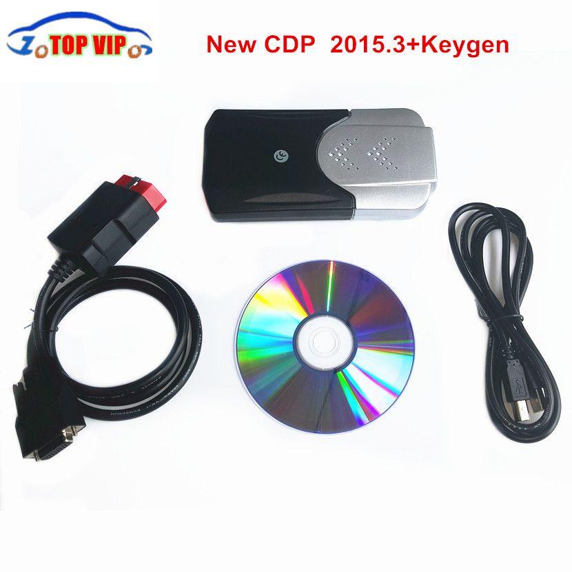 A + Quality 2016.00 keygen OBD2 diagnostic-tool CDP newest NEW VCI tcs cdp Bluetooth Car/Truck/Generic 3 IN 1