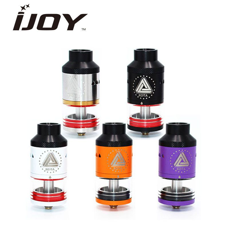 Authentic IJOY Limitless RDTA Side filling Atomizer 6.9ml Capacity RDTA Classic Edition Tank with 11 optional decks/ coils E-cig
