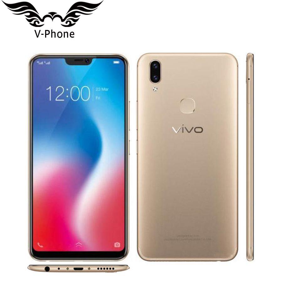 International Version VIVO V9 4G Mobile phone 4GB 64GB Snapdragon 626 Octa Core 6.3