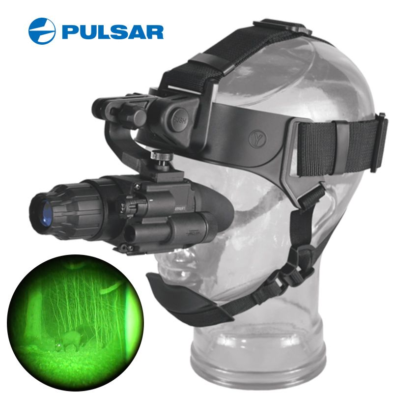 pulsarGS1x20 tactical night vision goggles device hunting monocular nachtsicht vinoculares vision nocturna tactico mount caza