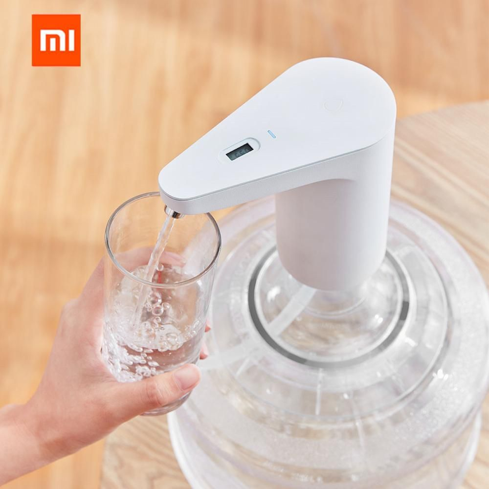 XIAOMI Automatic Rechargeable USB Mini Touch Switch Water Pump Wireless Electric Dispenser with TDS Test Water Pumping Device