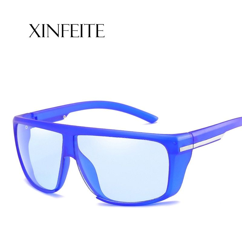 Xinfeite Sun glasses New trend fashion windproof UV400 outdoor sports men's sunglasses leisure clear lens plain glasses X184