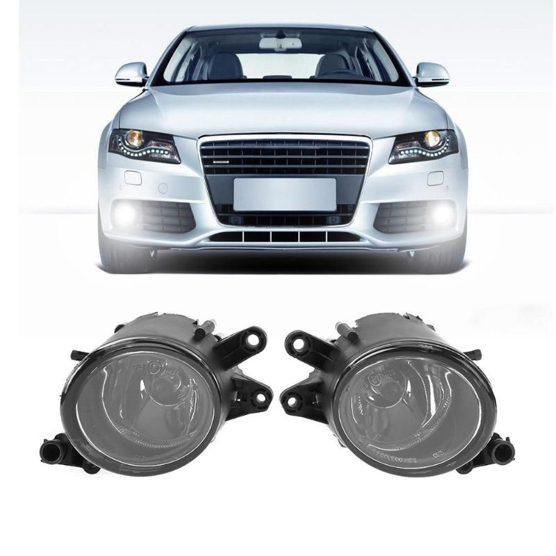 Vodool 1pair Right Left Car Front Grille Light Front Fog Lamp Replacement for Audi A4 B6 1998-2004 Car Styling Accessaries