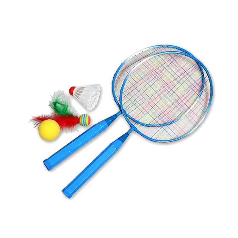1 paar Jugend kinder Badminton Schläger Sport Cartoon Anzug Spielzeug für Kinder C55K Verkauf