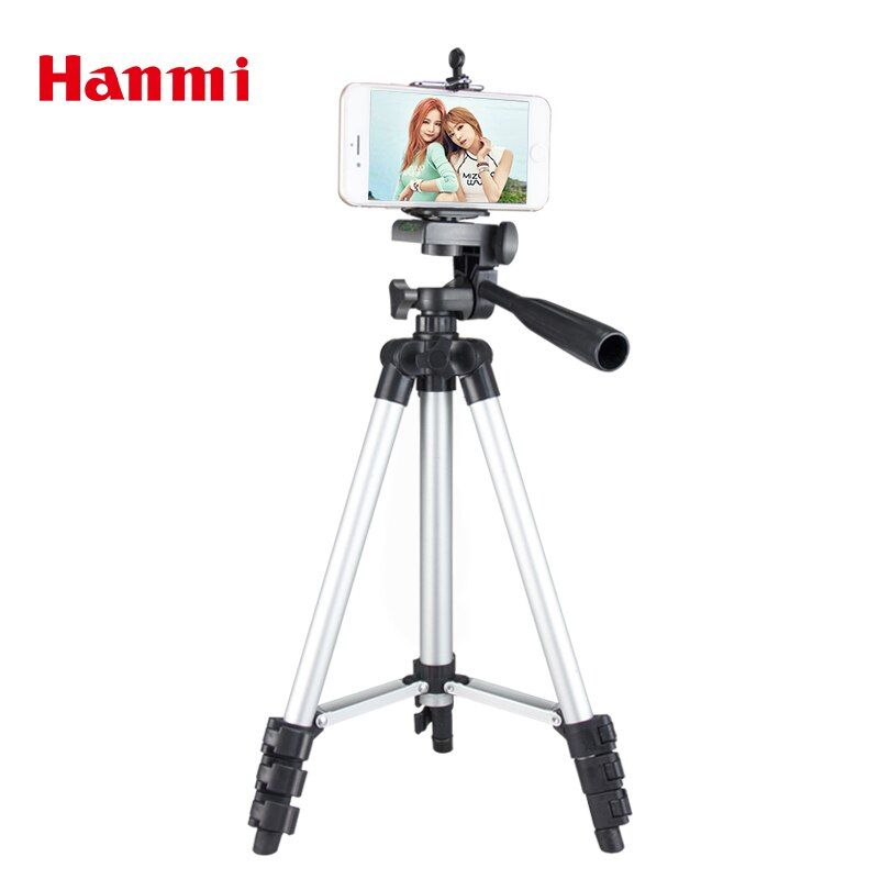 Hanmi New Universal Portable Lightweight Cellphone Smartphone Camera Tripod For Phone Tripod For Canon Sony Nikon Compact Tripod