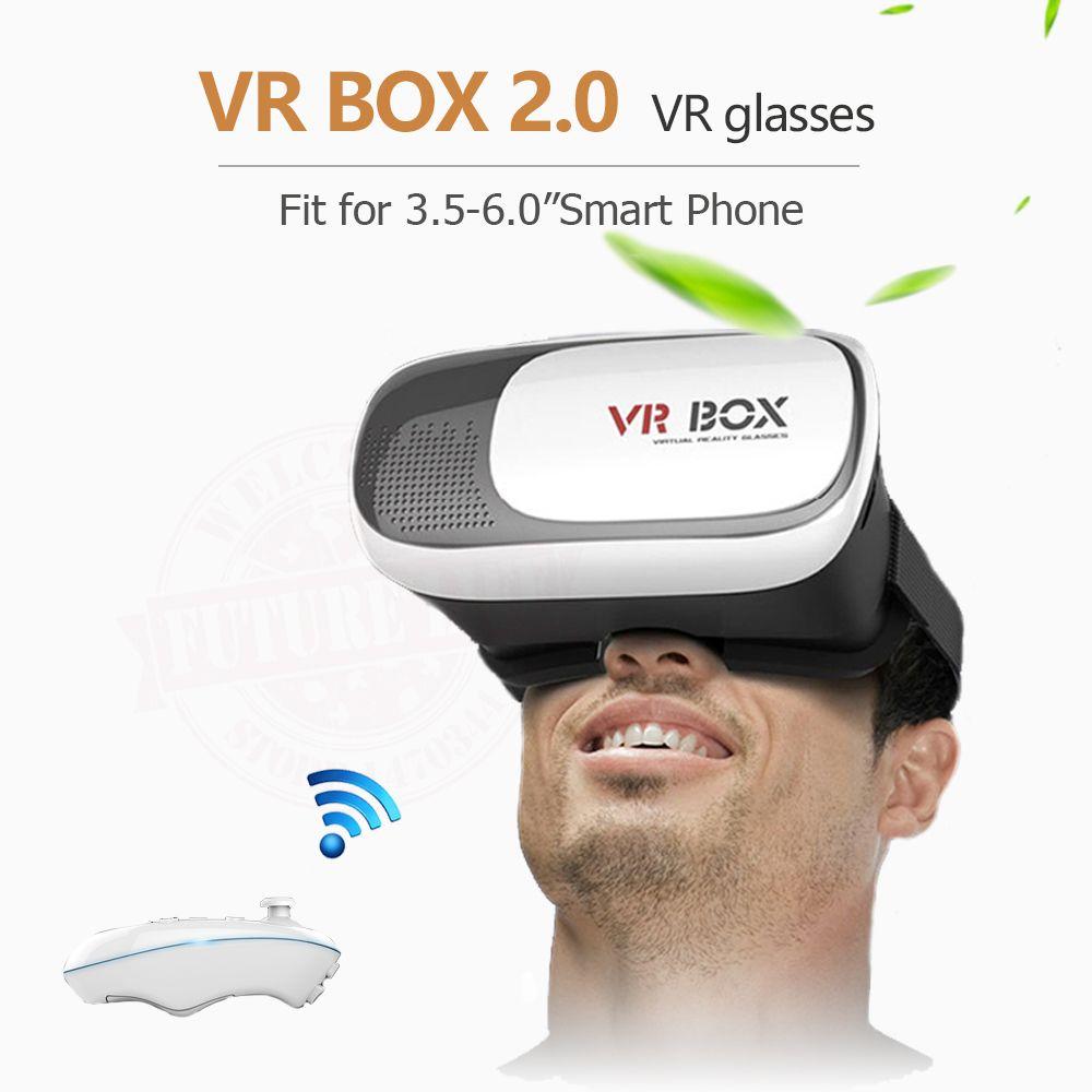 2017 Nouveau Google carton HeadMount VR BOÎTE 2.0 VR Virtuel 3D Lunettes pour 3.5