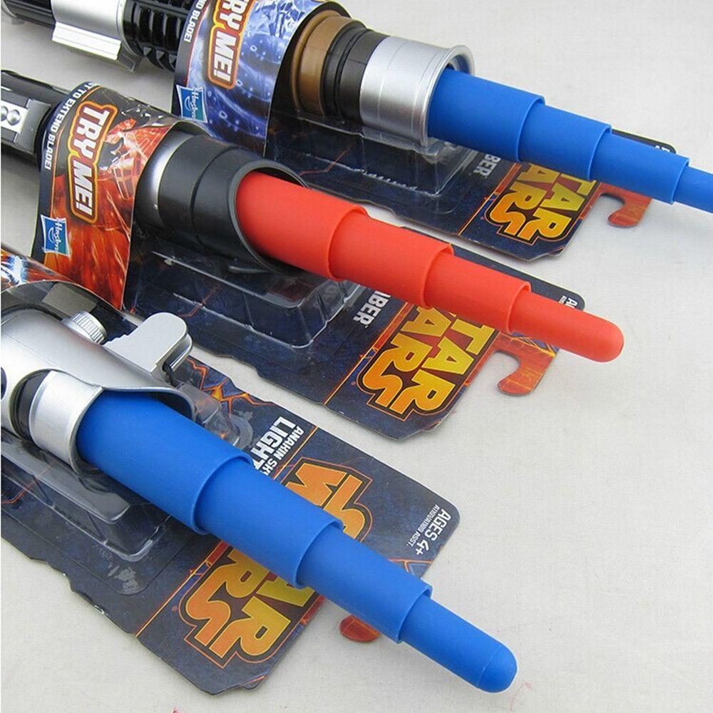 Star Wars световой меч Дарта Вейдера Оби-Ван Анакин телескопическая Меч световой меч фигурку Игрушечные лошадки без света для детей рождествен...
