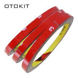 1 unid 0,8 cm anchura coche pegatina para 3 M doble espuma Faced cinta adhesiva pegamento Auto adhesivo de múltiples función coche accesorios coche de estilo