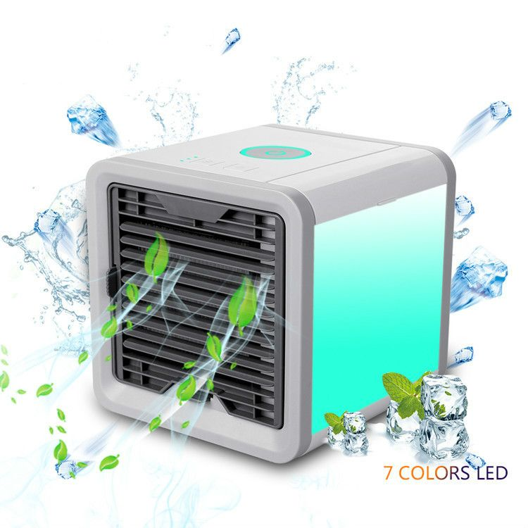 Arctic Air Cooler Quiet Personal Space Air Cooler Quick & Easy Way to Cool Any Space Air Conditioner Home Office Desk Device