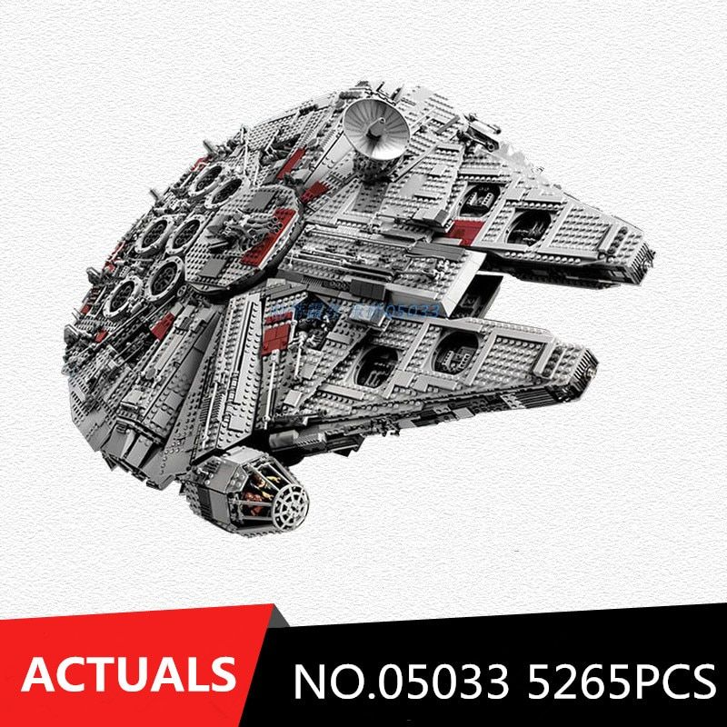 LEPIN 05033 Star Wars Ultimate Wars Collector's Millennium Falcon Model Building Blocks Bricks Toys Compatible 10179