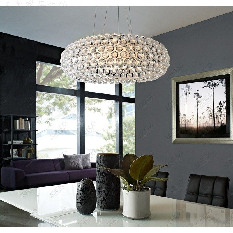 include bulb pendant lights Arylic NEW Bedroom Acrylic Kitchen House 50cm Foscarini Caboche Ball Pendant Lamp Bead light ZCL