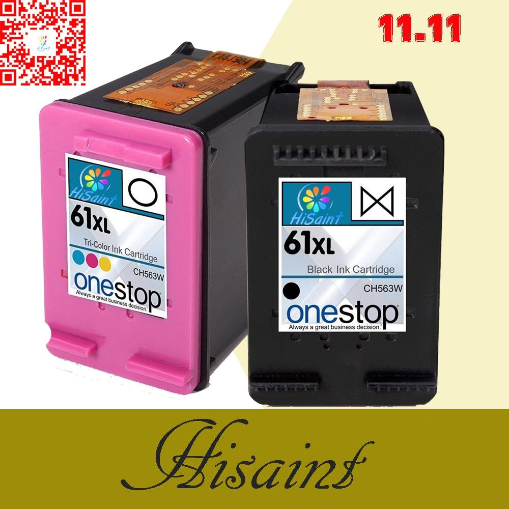 HOT For HP61XL for hp 61 ink Cartridge  for hp61 Ink Cartridge Deskjet 1000 1050 2000 2050 3000 J510a sale free shipping