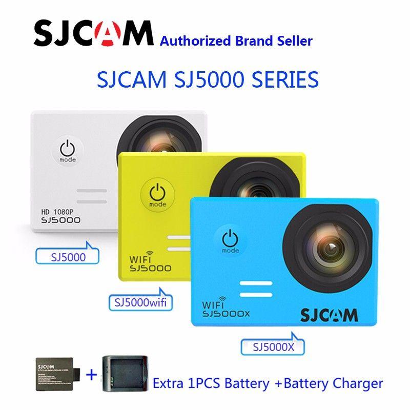 SJCAM sj5000 серии sj5000 и sj5000 WI-FI и SJ5000X Elite WI-FI 4 К гироскопа Спорт действий camerar