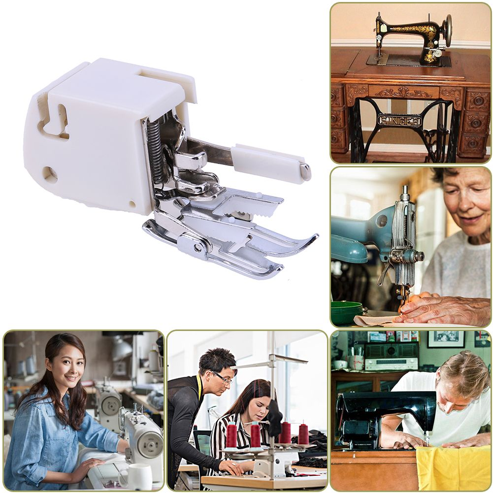 Useful Domestic Electric Sewing Machine Foot Feet Snap Quilting Walking Guide Presser Foot Guide Rod Sewing Tools Accessory