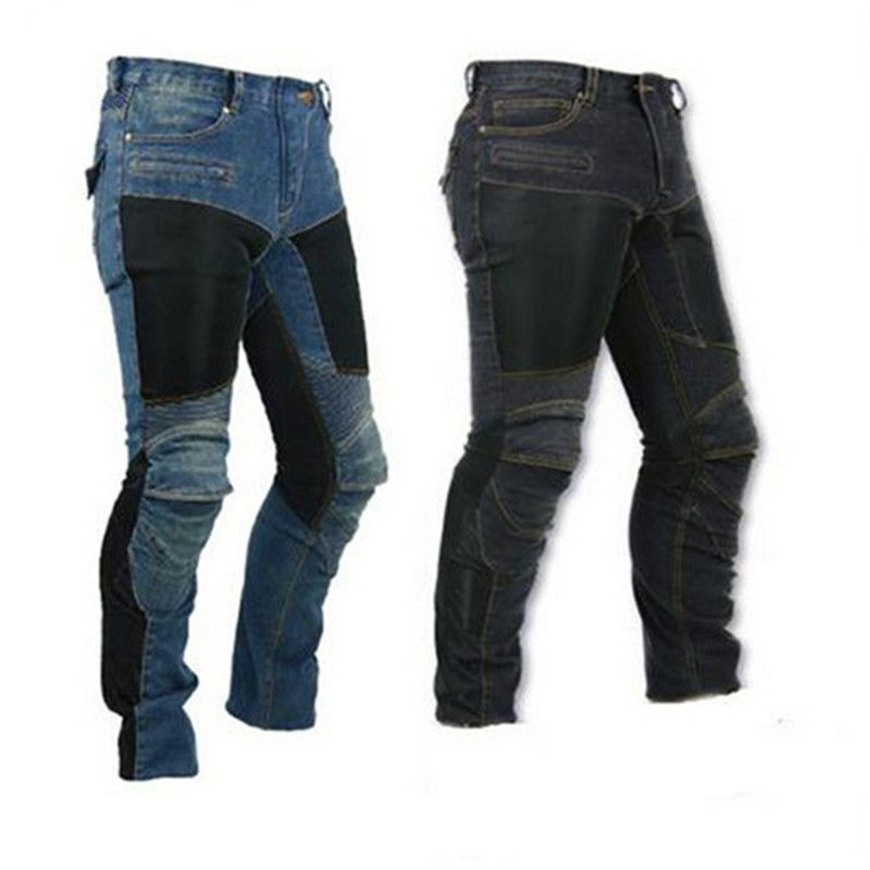 2017 KOMINE MOTORPOOL UBS06 PK719 Jeans Leisure Motorcycle Men's Off-road Outdoor Jean/cycling Pants With Protect Equipment