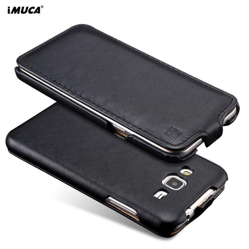 Für Samsung Galaxy J3 2016 Fall Abdeckung Original iMUCA Flip PU leder Fall Rückseitige Abdeckung Für Samsung Galaxy J3 2016 Phone Cases
